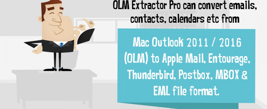 Import Data from Outlook 2011 to Apple Mail a 4-step conversion system