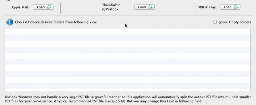 Mozilla Thunderbird to Outlook Converter