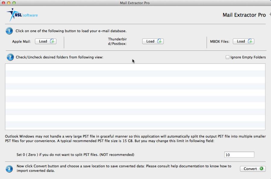 mac thunderbird to pst converter