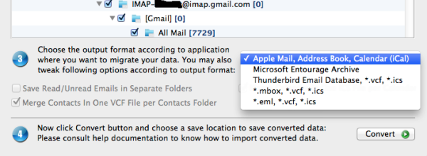 convert olm to apple mail
