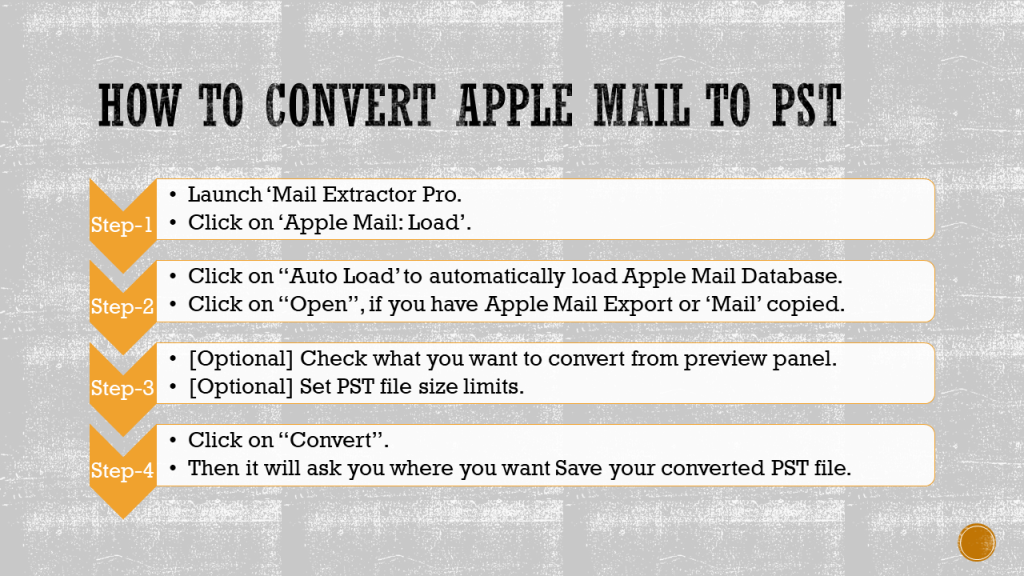 apple mail into pst conversion