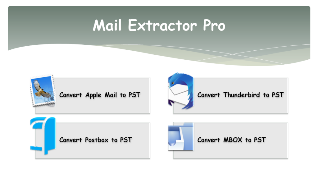 Converting Thunderbird mail to Outlook 2019
