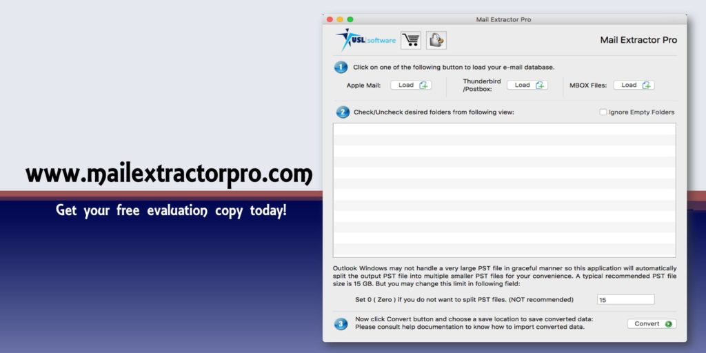 convert mail to pst