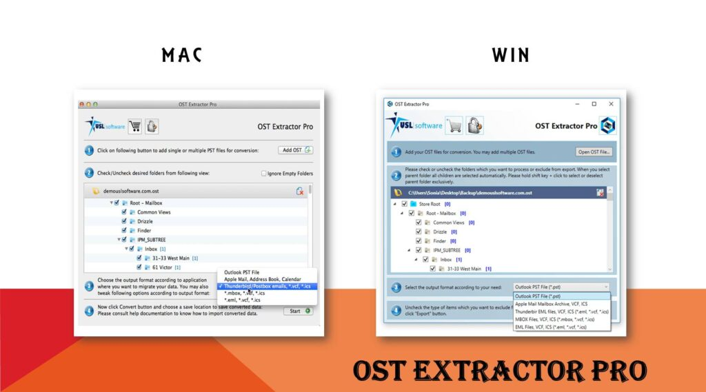 OST to Thunderbird Converter