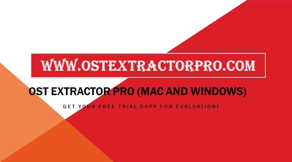 OST to Thunderbird Converter Tool